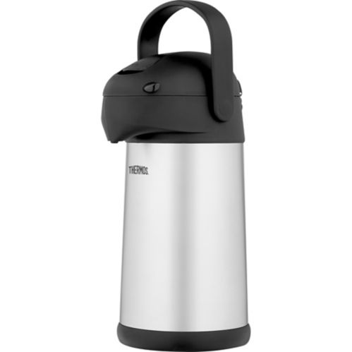 Thermos Stainless Steel Vacuum Insulated Pump Pot, 2.5-L Product image