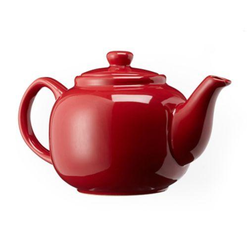 Théière, rouge, 6 tasses