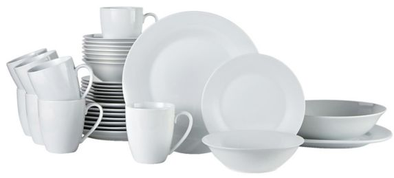 CANVAS Lauren PorcelainDinnerware Set, 34-pc