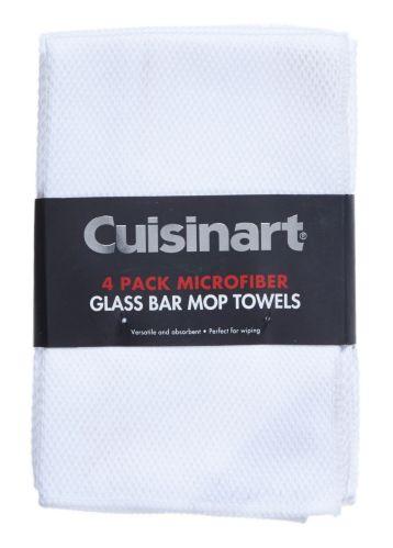 Cuisinart Microfibre Diamond Weave Glass Towel, 4-pk Product image