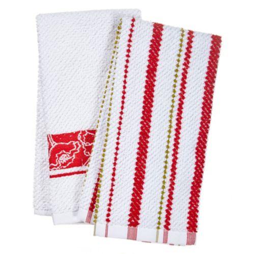 Serviettes en tissu éponge For living, coquelicots, paq.2 Image de l'article
