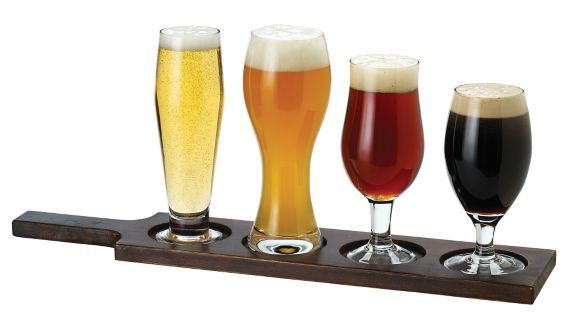 Beer Tasting Set with Paddle, 6-pc Product image