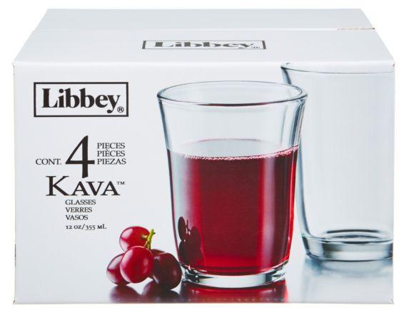 Service de verres à whisky doubles Kava de Libbey, 4 pces Image de l'article