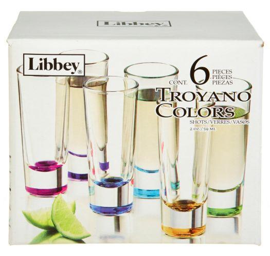 Libbey Colour Shot Glass, 6-pk Product image