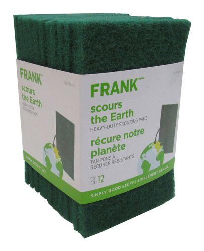 Tampons à récurer FRANK, paq. 12