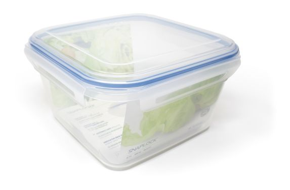 Contenant carré Snaplock pour la conservation des aliments Image de l'article
