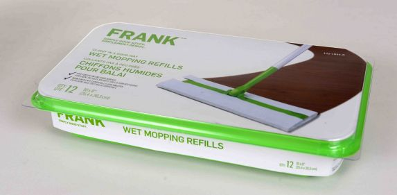 FRANK Wet Mopping Cloth Refill, 12-pk Product image