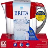 Grand pichet Brita, rouge 10 tasses | Britanull