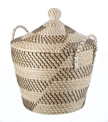 CANVAS Natha Basket with Lid
