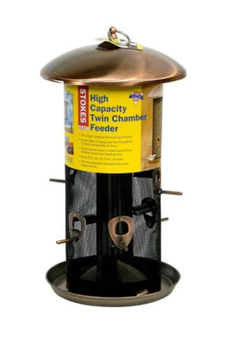 High Capacity Twin Bird Feeder