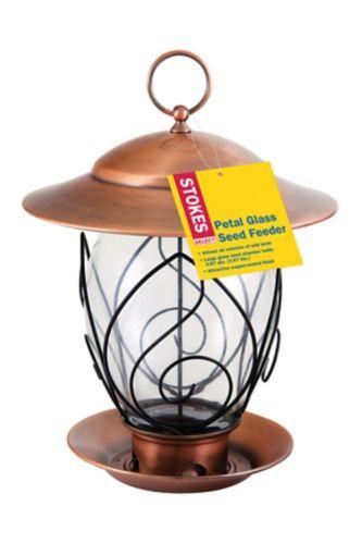 Stokes Petal Glass Seed Bird Feeder Product image