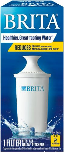 Brita Replacement Water Filter, Single Product image