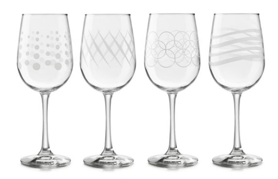 Libbey Adorn Wine Glasses, 4-pc Product image