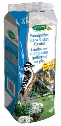 Scotts Woodpecker Bar & Basket Feeder, 590-g Product image