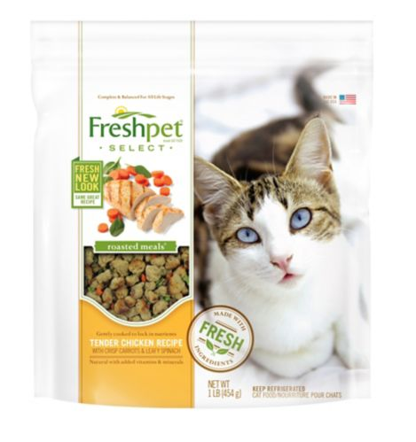 Freshpet Roasted Chicken Dry Cat Food, 454-g