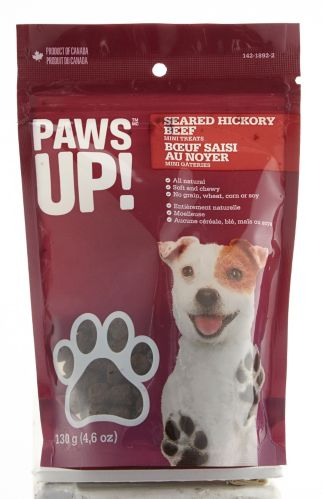 PAWS UP! Big Cuts Dog Treats, 130-g Product image