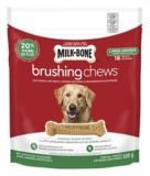 Gâteries dentaires à mâcher pour chiens Milk-Bone Brushing Chews, grande race | Milk-Bonenull