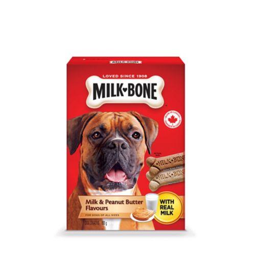 Gâteries Milk-Bone, beurre d'arachides, 800 g Image de l'article