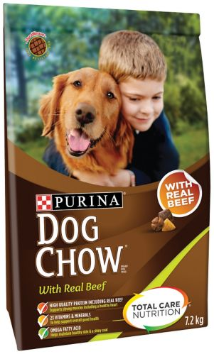 Purina Beef Dog Chow, 7.2-kg Product image