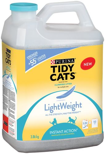 Purina Tidy Cats Lightweight Instant Action Cat Litter, 3.9-kg
