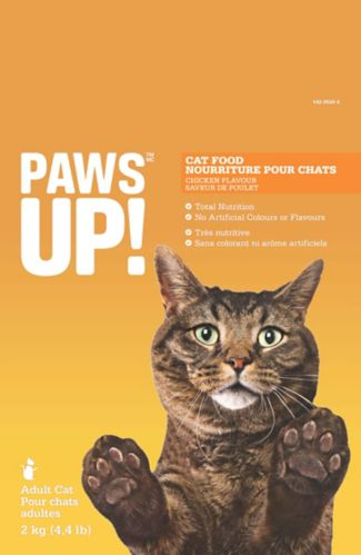 PAWS UP! Whitefish Cat Food Product image