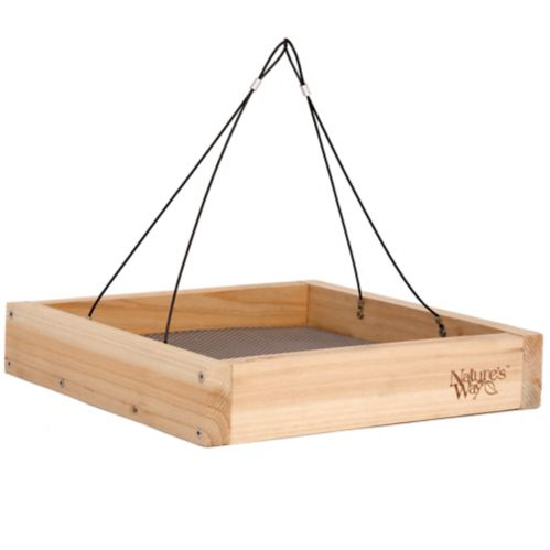 Cedar Tray Bird Feeder Product image