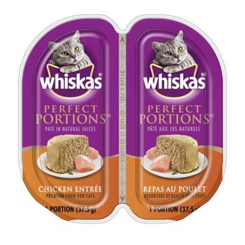 Whiskas Perfect Portions Cat Food, 75-g