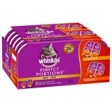 Whiskas Perfect Portions Multi-Pack Cat Food, 12-pc | Whiskasnull