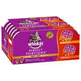 Nourriture pour chats Whiskas Perfect Portions, paquet multiple de 12 | Whiskasnull