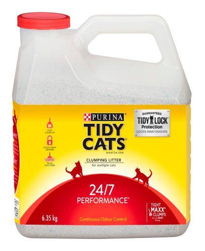 Litière Purina Tidy Cats 24/7 Performance, 6,3 kg