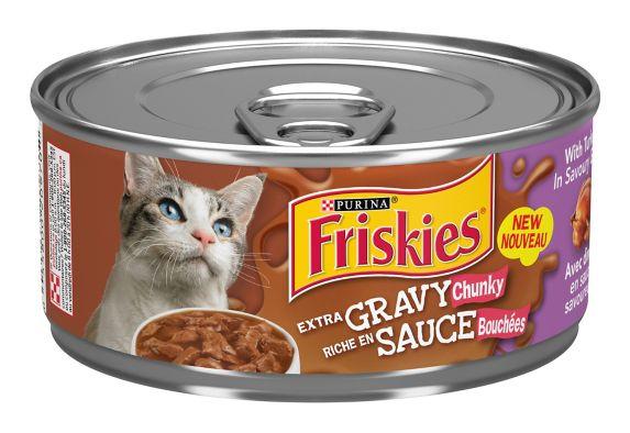 Purina Friskies SauceSations Turkey & Giblets Cat Food, 156-g