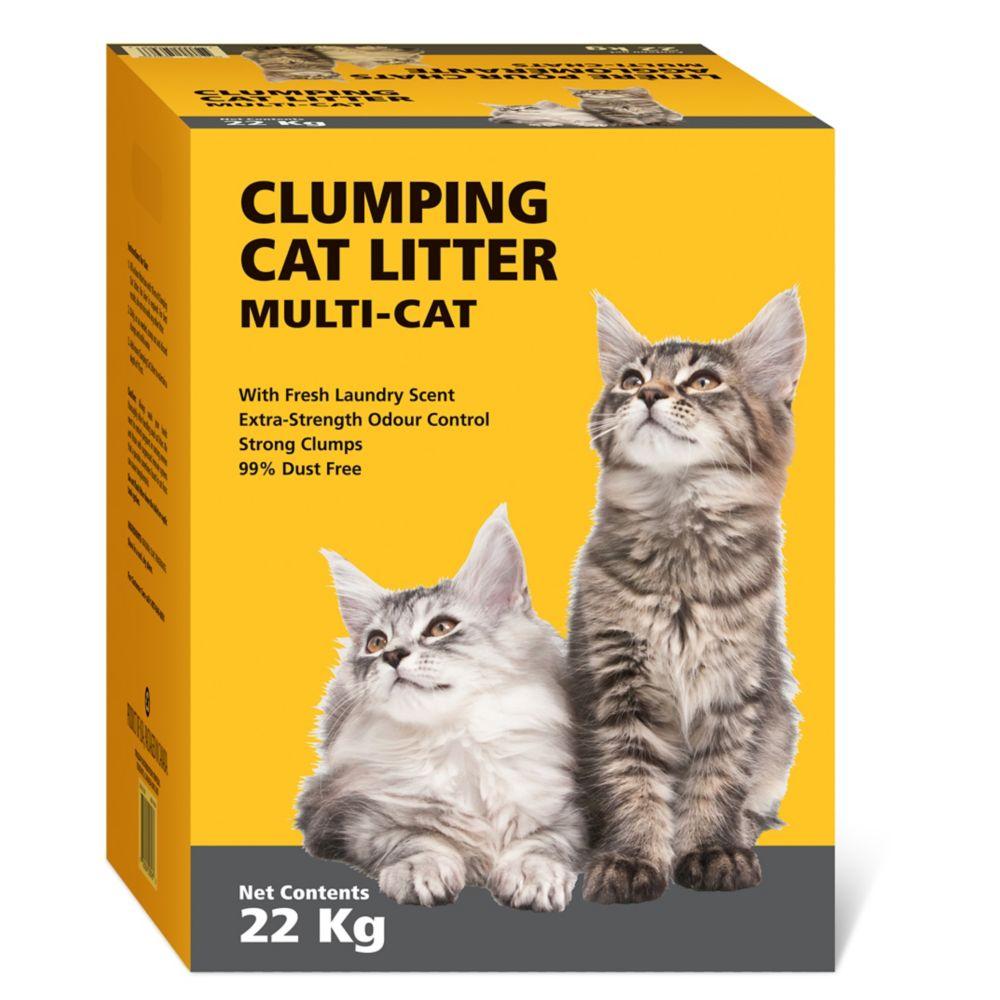 Clumping Cat Litter, 22-kg