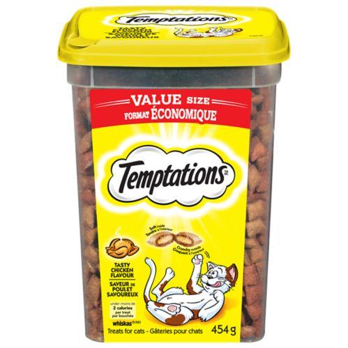 Temptations Tub Cat treats, 454-g