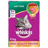Whiskas Tuna Dry Cat Food, 9.1-kg | Whiskasnull