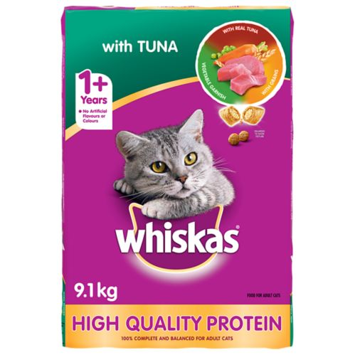 Whiskas Tuna Dry Cat Food, 9.1-kg Product image