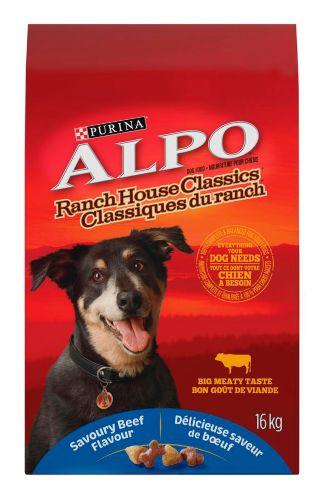 Purina Alpo Ranch House Classics Dog Food, 16-kg Product image