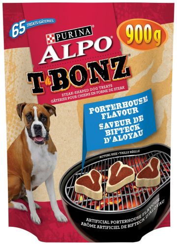 Purina Alpo T-Bonz Dog Treat, 900-g Product image