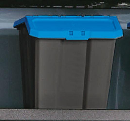 Bac de rangement robuste à couvercle rabattable Mastercraft, 61 L