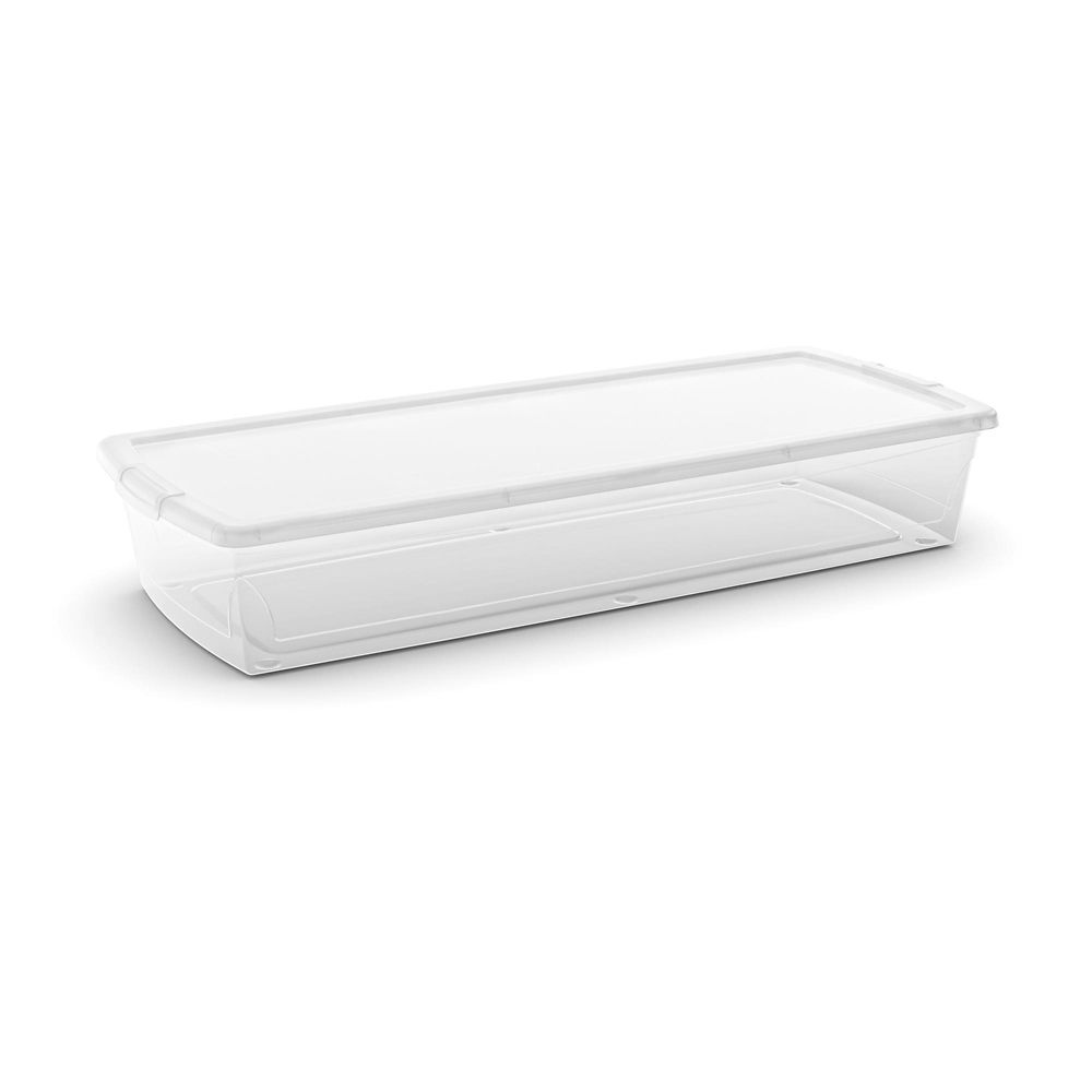 Type A Clarity Under-Bed Container, 50-L