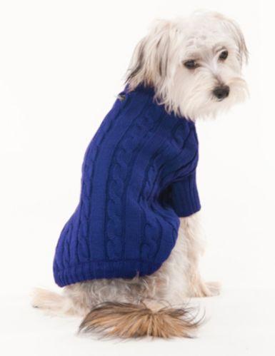 Chandail en tricot pour chiens
