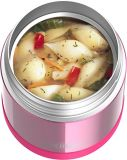 Thermos Stainless Steel Food Jar with Spoon, Pink, 10-oz | Thermosnull