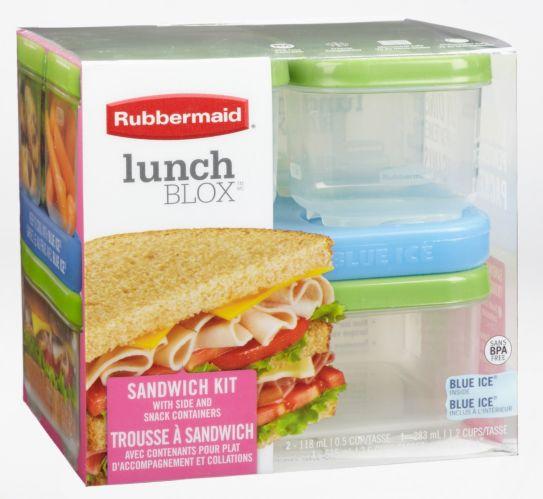 Contenants pour sandwich Rubbermaid Lunch Blox Image de l'article