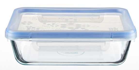 Snapware Rectangular Glass Food Storage Container, 6-cup Product image