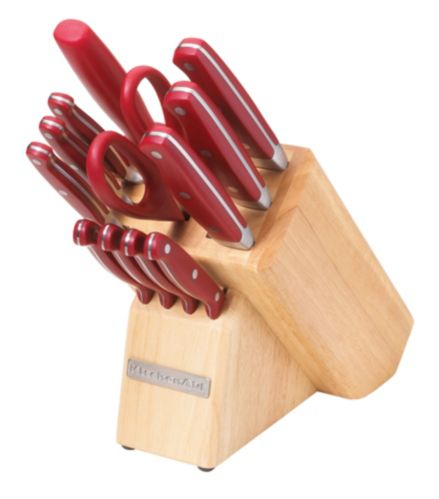 KitchenAid 13-piece Red Knife Set Product image