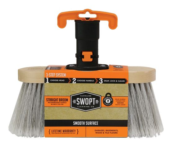 Swopt Premium Smooth Surface Straight Broom