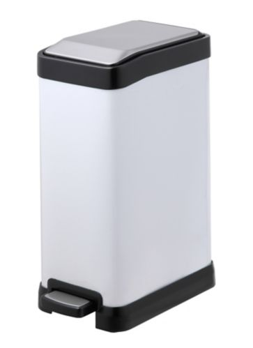 type A Rectangular Step Bin, White, 8-L Product image