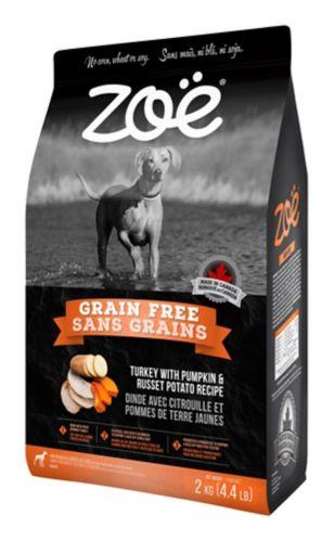 Zoe Dog Grain Free Turkey, 2-kg Product image