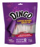 Dingo Large White Bone, 3-pk   Dingonull
