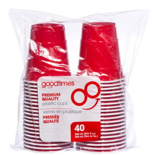 Good Times Red Cups, 40-pk Product image