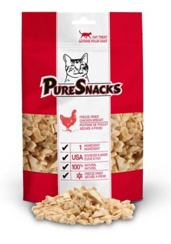 PureSnacks Chicken Cat Treats, 29-g